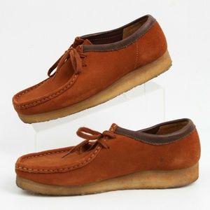 Clarks Original Wallabee Chukka Desert Ankle Shoes